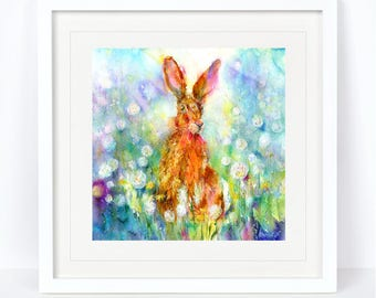 Jessica Hare Limited Edition Print from an Original Sheila Gill Watercolour. Fine Art, Giclee Print, Hand Painted, Home Decor