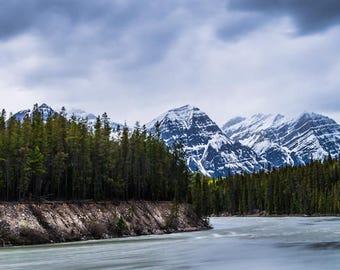 Athabasca River - Alberta, Canada