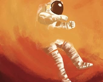 The Martian Illustration