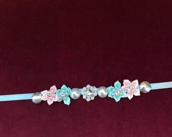 Cotton candy fairy bun wreath