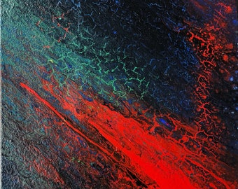 """Abstract Painting: """"In the Galaxy"""""""