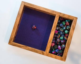 Beli Wood Dice Tray