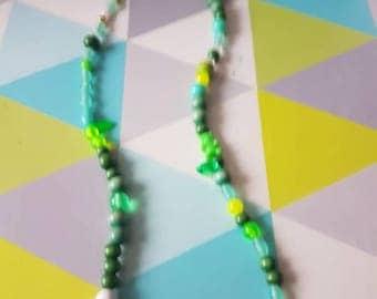 Color nature necklace