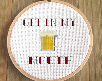Beer Cross Stitch Pattern - For Beer Geeks