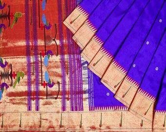 Silk Paithani Saree PAI1SSAR109