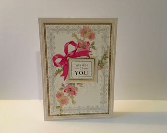 Handmade Thinking of You Card
