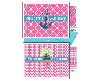 Delta Gamma Notecards - Logo
