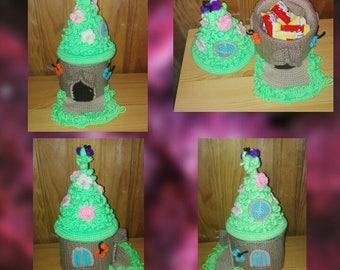 Amigurumi kibble Fairy House model Croc's Betty