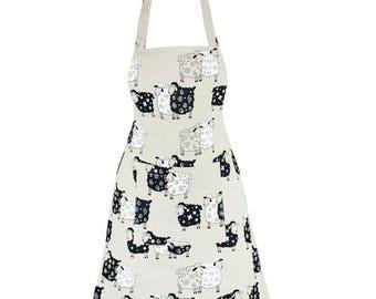 Linen & Cotton Stylish Apron Sheep Design