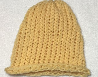 Hello, Yellow - Newborn Hat