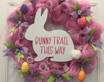 Easter wreath, spring , Easter Bunny,gift