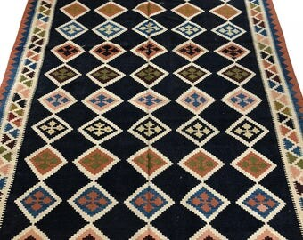 """001358 Oriental Kilim Persian 5'11""""X10'"""