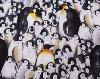 2.75 yards Penguin Сotton Fabric JO-ANN 41'' wide