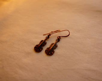 Cello Handmade Earrings ~ Artists & Art ~ Music Instruments ~ Valentine's Day ~ Gift for Her ~ Birthday ~ Special Date ~ Gift Idea
