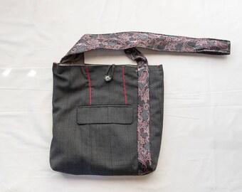 Floral Burst Messenger Bag