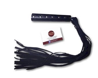 Flogger in pure articulated leather