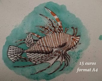 Lionfish ink