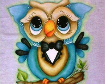 Diamond embroidery animal owl cartoon 3d diamond painting cross stitch picture diamond square diamond package full of diamonds
