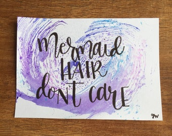 Mermaid water color