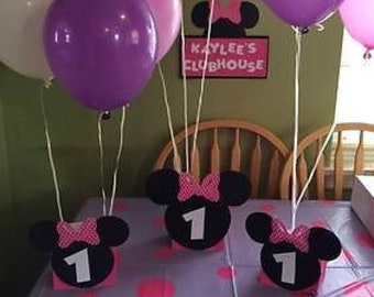 Minnie/ Mickey Mouse balloon weight