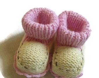 Soft Baby Booties Pink Baby Booties Newborn Baby Shoes Knit Baby Booties Best Baby Booties For Infants Baby Warm Booties Baby Shower Newborn