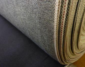 81cm 100% Cotton Indigo Selvedge Denim 12.5oz