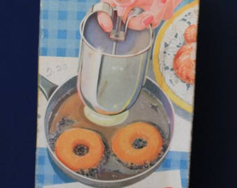 Vintage-Tala-Doughnut-Maker-Donut-Press-Circa-1950-In-Box