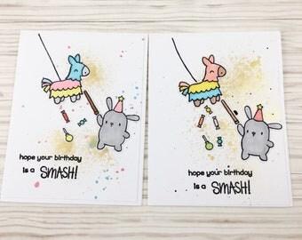 Birthday Smash  Box set of 10 cards