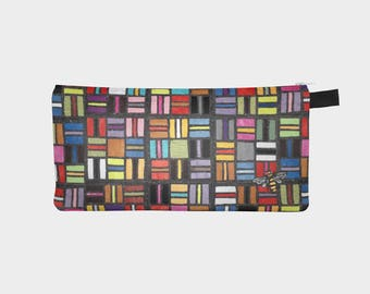 """Pencil/Cosmetic Case - Takes All Sorts  9"""" x 4"""""""