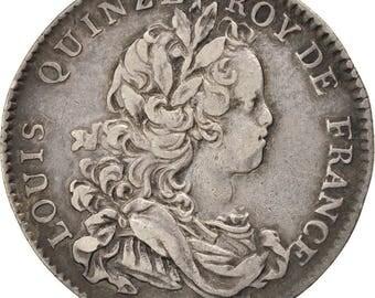 france jeton royal 1717 ef(40-45) silver feuardent1618