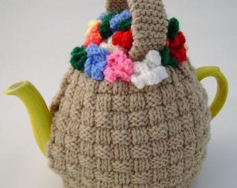 Flower Basket tea cosy