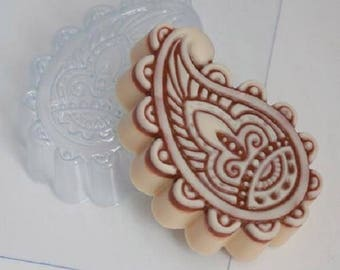Soap molds, Soap mold, Form for chocolate, Forms for chocolate, the Icetray, Plastic forms, Paisley, decorative east ornament