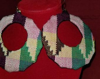 Kente Cloth Earring