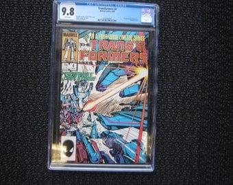 Transformers #4 - 1985 CGC 9.8 - 1st appearance Shockwave & Dinobots