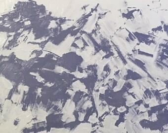 """Snowscape V (20 x 30"""")"""