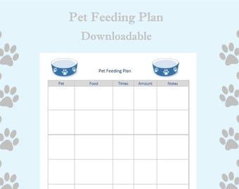 Pet Feeder Plan