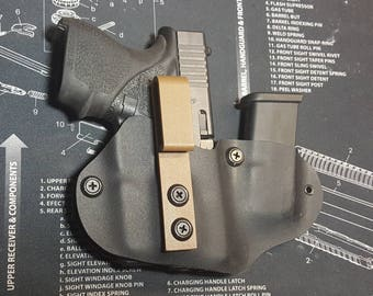 Glock43 w/tlr6 and extra mag