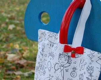 Tote Bag kids - coloring