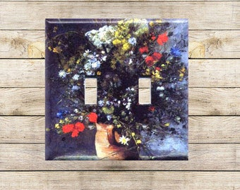 Flowers in a Vase Decorative Switchplate