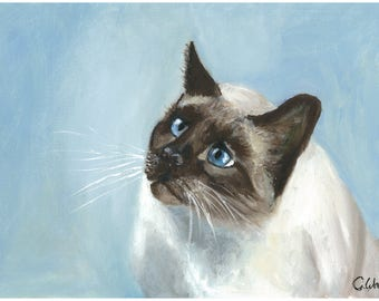 Mr Topaz is a print of an original Oil painting hand painted by myself.