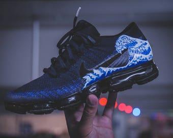 Nike Vapormax - Carré bleu