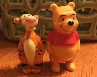 Walt Disney Winnie The Pooh And Tigger Too Ceramic Figurines China