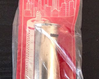 Vintage Metal Dime Bank Cylinder Style New Old Stock In Pack Japan