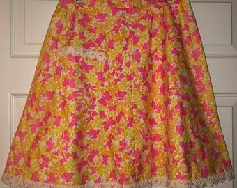 Vintage Lilly Pulitzer butterfly skirt