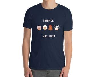 Friends Not Food Vegan T-shirt