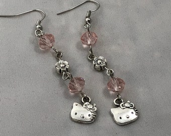 Hello Kitty dangle with crystals