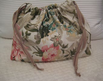 Drawstring bag for make up/gift bag/sanitary products/shoes/knitting