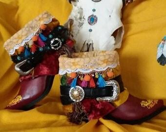 NEW Gypsy Western Booties