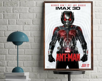 Ant-Man Movie Poster Marvel Superheroes