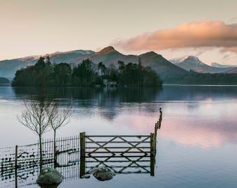Isthmus Bay - Derwent water. Lake District National Park